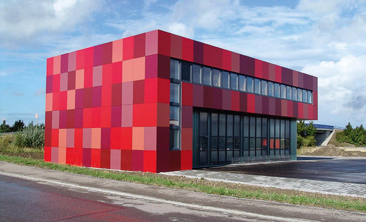 Protektor Fassadengestaltung Fugenbänder