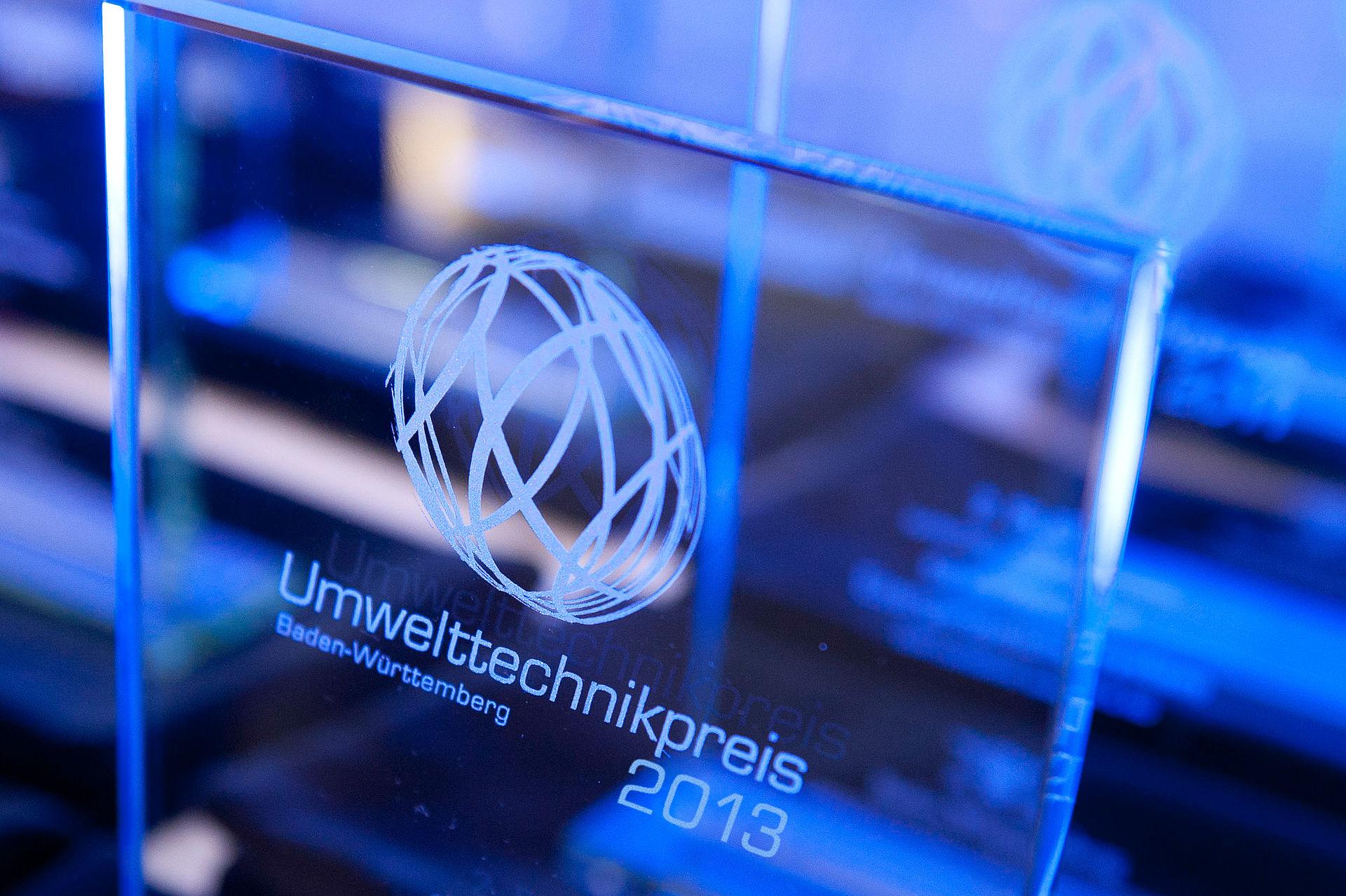 Umwelttechnikpreis Baden Württemberg 2013 Protektor