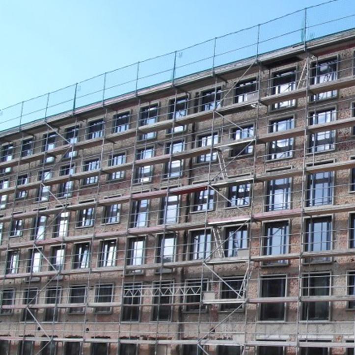 Putzfassade von Protektor für denkmalgeschützte Ferienanlage