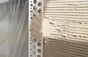 91051 Kantenprofil aus Aluminium weiß beschichtet