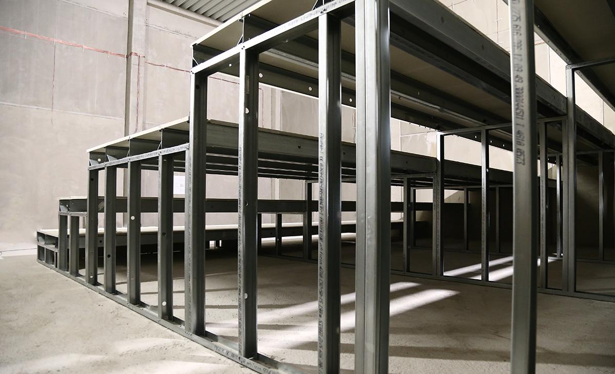 Konstruktion mit edificio Stahlleichtbauprofile von Protektor