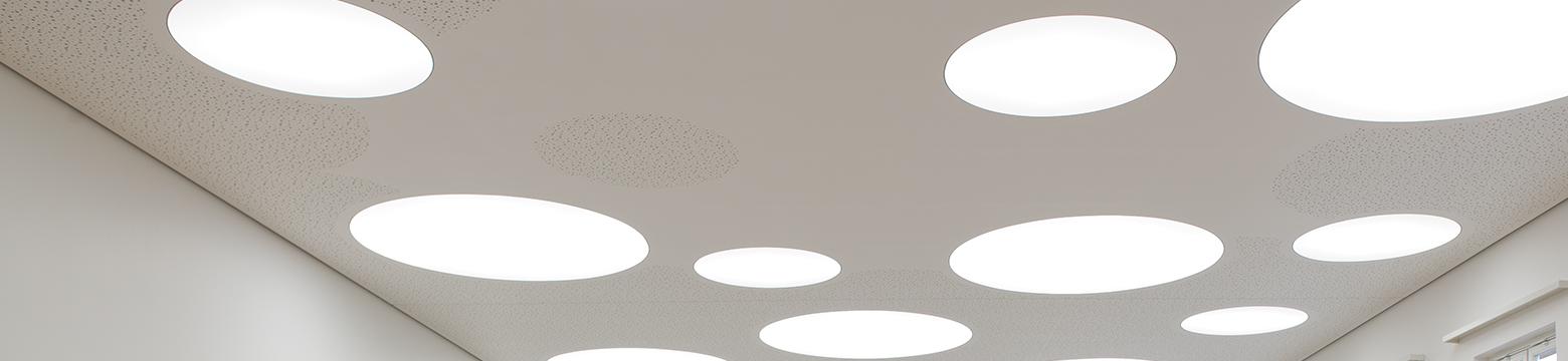 Aula-Decke der Architekten von Kersten & Kopp