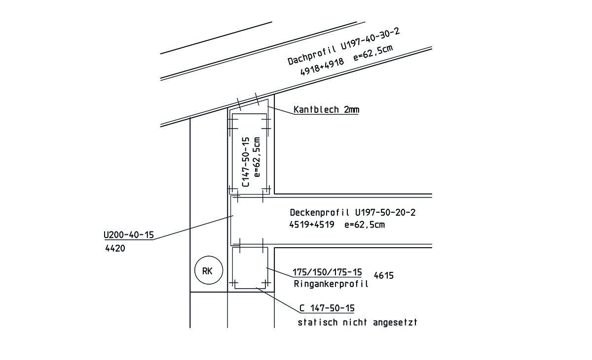 Planung eines Einfamilienhaus in Stahlleichtbauweise von Protektor