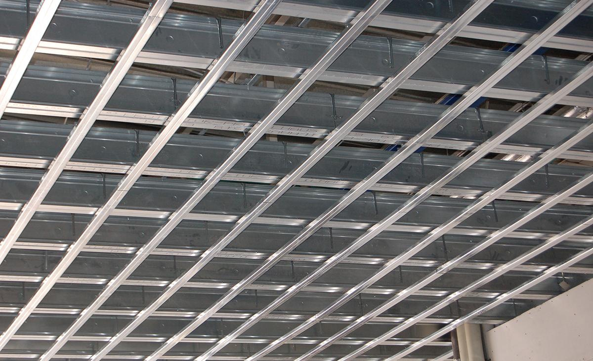 Weitspannträger Deckenkonstruktion Rohbau