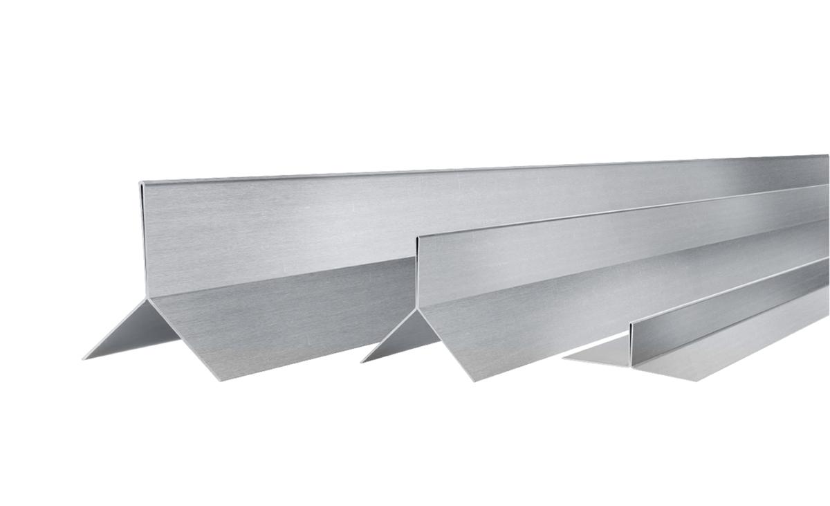 Kantenprofile, Fugenprofile und Abschlussprofile für die perfekte Holzfassade.