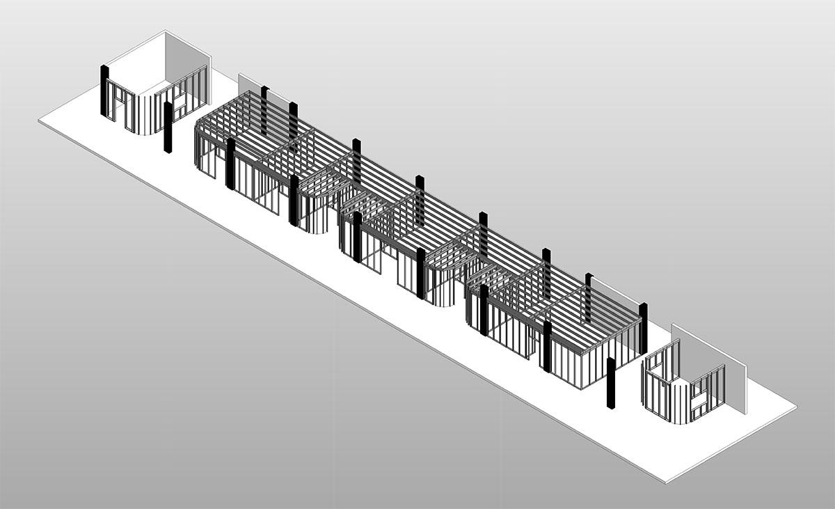 Protektor Raum-in-Raum-System in Planung