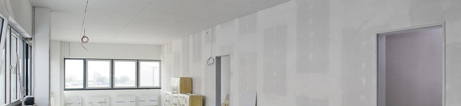 Standardprofile für Decke und Wand