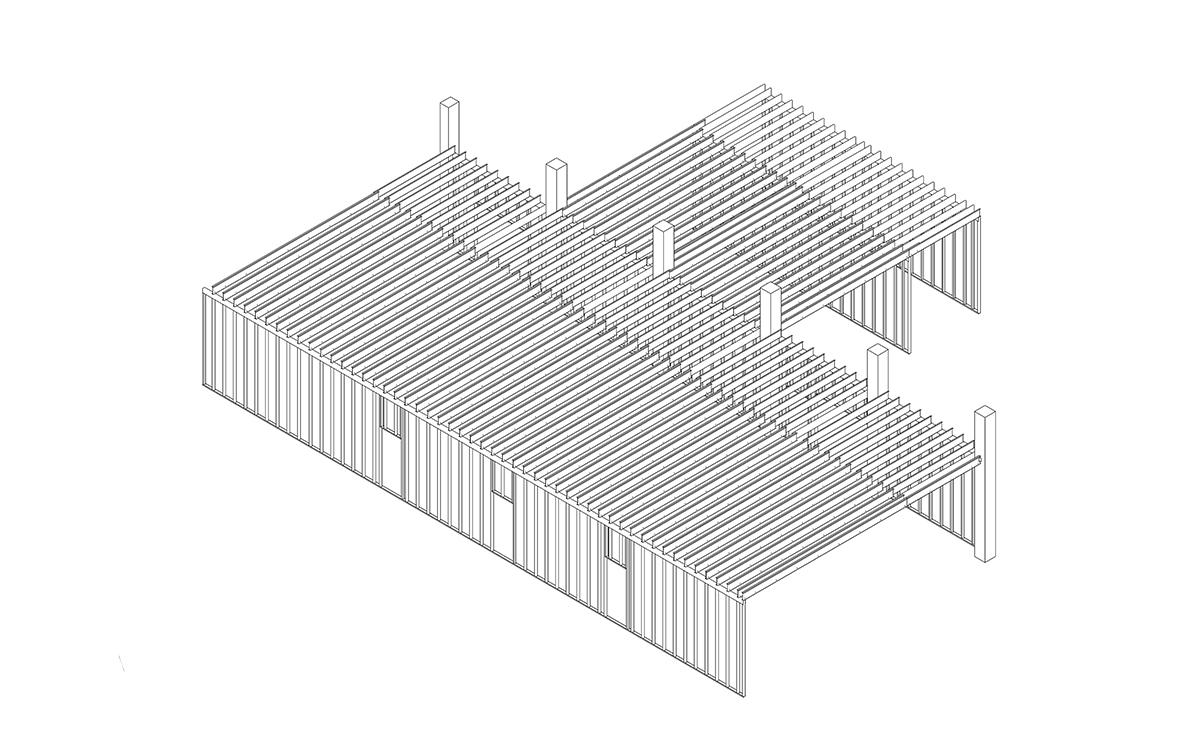 Planung einer Hallenkostruktion mit Stahlleichtbauprofilen