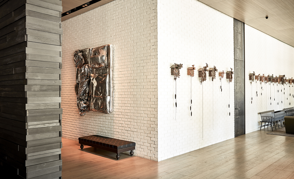 Charakter trifft auf hohe Wandkonstruktion aus Stahlleichtbau