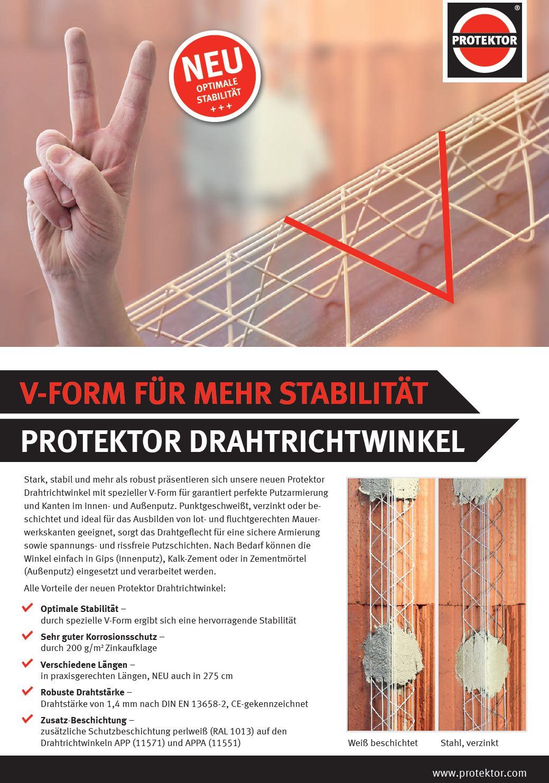 Flyer Drahtrichtwinkel
