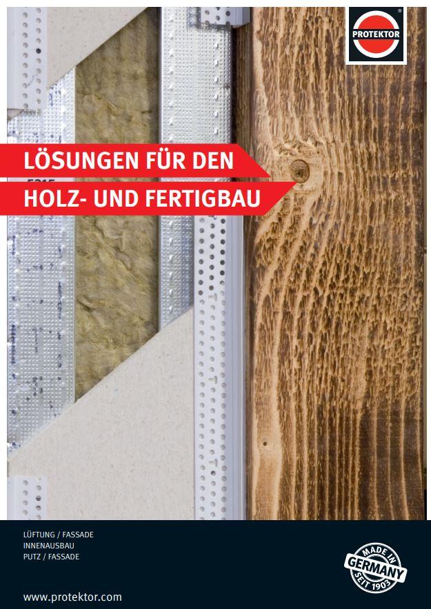Prospekt Profil-Sortiment für den modernen Holzbau